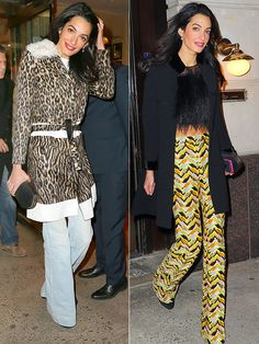 Amal Clooney in a Crop Top and Flares? Believe It! http://stylenews.peoplestylewatch.com/2015/03/25/amal-clooney-crop-top-flares-style-photos/