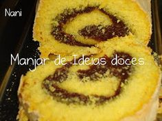 Manjar de ideias doces... e não só!: Torta Pio IX (Chocolate) Favas Guisadas, Onion Rings, Feta, Rolls, Food And Drink, Pie, Yummy Food, Sweets, Bread