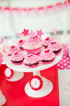 American Girl Doll Birthday Party via Kara's Party Ideas | Kara'sPartyIdeas.com #Pink #Doll #PartyIdeas #Supplies (3)