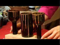Мастер класс от Марата Ка «Подсвечники и ваза из бутылки»