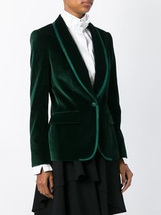Dolce & Gabbana бархатный блейзер