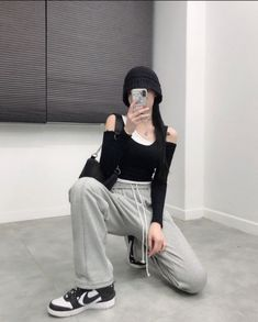 Colourful Outfits, Edgy Outfits, Korean Outfits, Cute Casual Outfits, Simple Outfits, Fashion Outfits, Korean Girl Fashion, Ulzzang Fashion, Skinny Inspiration