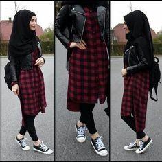 Fashion Arabic Style Illustration Description Hijab Fashion 2017 : Comment avoir un Hijab street style tendance – Read More –