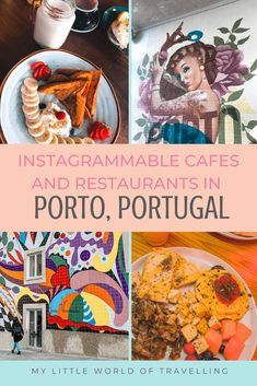 A food guide for Porto in which you can discover some of the best cafes and restaurants in the city. Personal experience, recommendations and tips. Cafe Nyc, Paris Cafe, Visit Portugal, Portugal Travel, Best Brunch Places, Top Cafe, Unique Cafe, Europe Bucket List, London Instagram