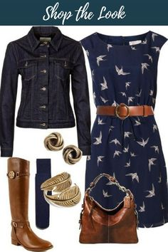 Cute weekend casual outfit for shopping or lunch. Also great vacation/travel outfit. Belted waist may look matronly on me. Looks Chic, Looks Style, Style Me, Mode Outfits, Casual Outfits, Fashion Outfits, Womens Fashion, Skirt Outfits, Dress Fashion