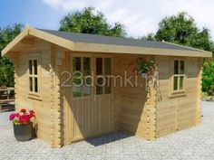 There are a wide range of uses of building a log cabin on your property. Your cabin can be a home office, home gym, summer house, another bedroom or a chalet. Backyard Cabin, Cabin Crafts, How To Build A Log Cabin, Tiny Spaces, Tiny House, Environment, Outdoor Structures, Building, Places