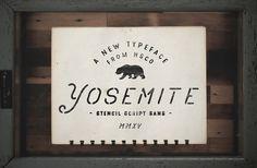 Yosemite by Hustle Supply Co. on @creativemarket