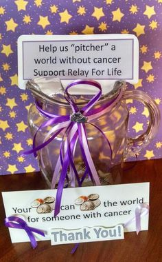 Change collection fundraiser - Relay For Life of Poweshiek County