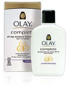 Olay Complete for oily/combo skin!--I've been looking for a new daily moisturizer for wintertime.