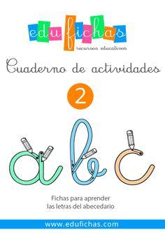 Cuadernillo en PDF de las letras del abecedario #preescolar #pdf…