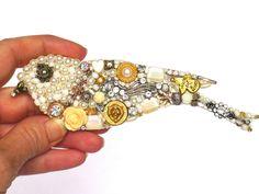 Geschenke für Frauen - Mosaik Dekoration mit Perlen und Schmuck - ein Designerstück von LonasART bei DaWanda