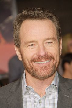Bryan Cranston is a hot older man.