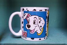 Disneys 101 Dalmatians Coffee Mug by CoffeeApothecary on Etsy, $12.00