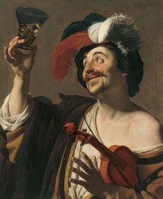 Gerrit van Honthorst   c. 1624  Thyssen-Bornemisza      Nº INV. 194 (1986.21)