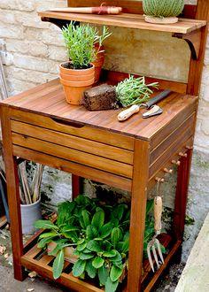 15 best potting benches u003c 3 ft wide images potting benches rh pinterest com