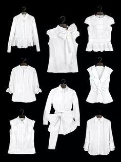 Blusas blancas CH