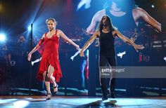 News Photo : Jennifer Lopez and Joaquin Cortes perform during...