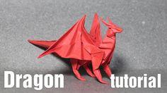 Origami Dragon 3.0 tutorial - DIY (Henry Phạm)