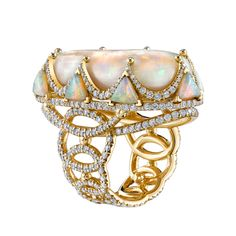 Erica Courtney opal ring.