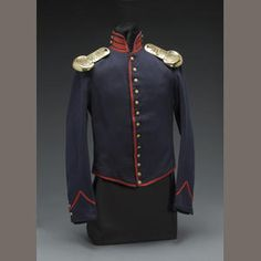 A Civil War era artillery enlistedman's shell jacket