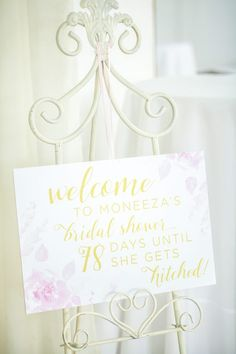 Day Countdown, Bridal Shower Signs, Party Decoration, Resolutions, The Hamptons, Wedding Day, Place Card Holders, Bridesmaid, Inspired