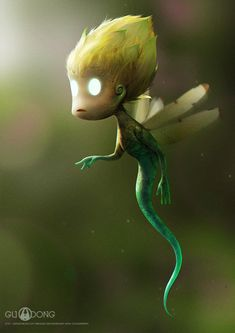 creature, Guodong Zhao on ArtStation at https://www.artstation.com/artwork/creature-9c1b645f-1aa9-4e30-9552-e47fd8b71a78