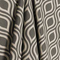 Modern Gray Curtain Panels: would love these for my room right now