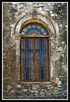 Ancient stained glass window by rman nepomuceno, via Flickr