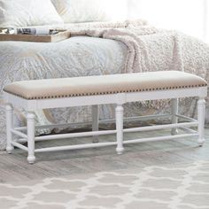 Shop, compare and enjoy the savings of the Belham Living Cottage Spindle Bench on Hayneedle to the Restoration Hardware Louis Bench. The Belham Living Cottage Spindle Bench offers designer-inspired style without the additional cost!