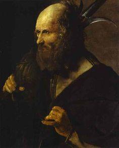 San Judas Tadeo (c. 1615-1620), de Georges de La Tour. Museo Toulouse-Lautrec, Albi, Francia