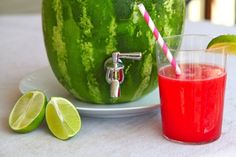 5 DIY Simple and Genius Ideas, HOW TO MAKE A WATERMELON KEG