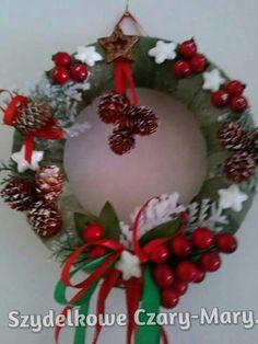 Boze Narodzenie # wianek #drzwi # swieta # ozdoby