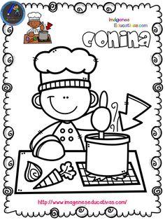 Mi libro para colorear en verano Pintar o dibujar por placer, diversión o como terapia. Cualquier finalidad es buena. Esta actividad, que no deja de ser una forma de expresión y de comunicación, hace... Colouring Pics, Coloring Books, Coloring Pages, Kindergarten Activities, Activities For Kids, Cute Clipart, Classroom Posters, Cute Drawings, Doodle Art