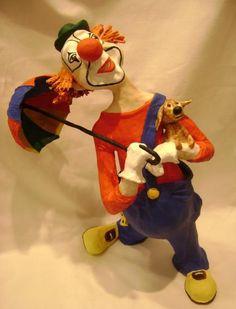 """""""Red clown"""" by Elena Sashina"""