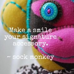 Indy and Cleo: Fashion Week ~ Sock Monkey Advice