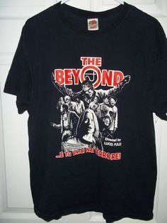 The Beyond. Retro Horror film black graphic tee. by pammyscloset, $29.99