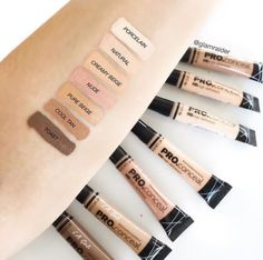 Concealers for days. Love the LA GIRL range