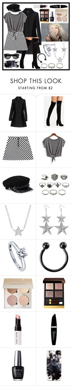 """Caught in the Middle"" by cliffordthefuqboi ❤ liked on Polyvore featuring Blugirl, WithChic, EF Collection, BERRICLE, Hot Topic, Bobbi Brown Cosmetics, Max Factor, OPI, Fifth & Ninth and Givenchy"