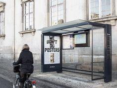 Výsledek obrázku pro bus stop shelter sign jcdecaux