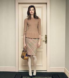 Jasmine Glen Plaid Skirt   Womens Skirts   ToryBurch.com