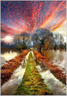 River Path, Alsace, France