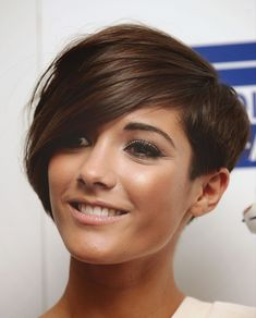20 Pretty Hairstyles for Thin Hair Pro-Tips for a Perfectly . Thin Hair Cuts asymmetrical pixie cut for thin hair Pixie Haircut For Thick Hair, Thin Hair Cuts, Haircuts For Fine Hair, Pixie Haircuts, Short Brunette Hair Cuts, Pixie Cut With Long Bangs, Blonde Brunette, Straight Hair, Short Asymmetrical Hairstyles
