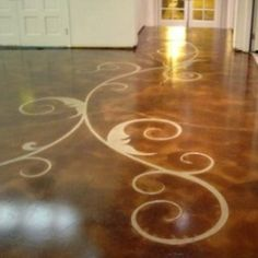 concrete floor carvings 325 x 325 300x300 In Bensenville, IL, Etched Concrete Is a New Trend