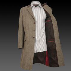 Keough Coat. Thomas Pink.