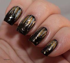 Winter Nail Art Challenge, The Nail Challenge Collaborative, New Year's nail art