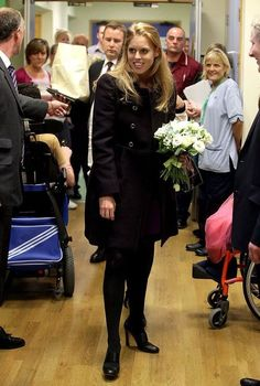 Princess Beatrice made her first official engagement as Patron of The Sick Kids Friends Foundation earlier today, where she visited the Royal Hospital for Sick Children in Edinburgh. September 19th 2013.