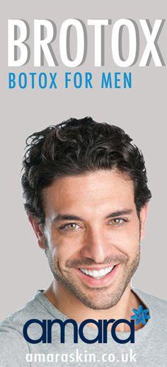 Brotox - Botox for Men - Botox Clinic London