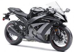 Kawasaki Ninja Grey.