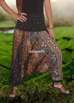 Harem Pants / Yoga pants / Hippie Pants /Boho by HarempantsTH