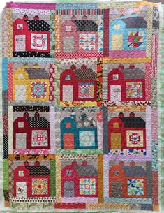dream quilt create: Farm Girl Vintage - Quilty Barns